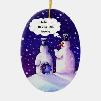 Snowmen Humor Christmas Ornament