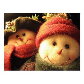 Snowmen Postcard