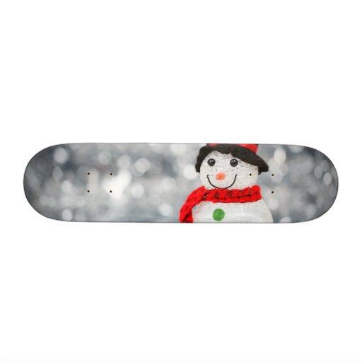 Snowmen Skateboard Deck