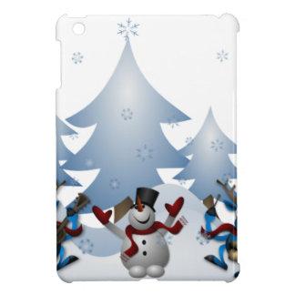Snowmens & Reindeers iPad Mini Case