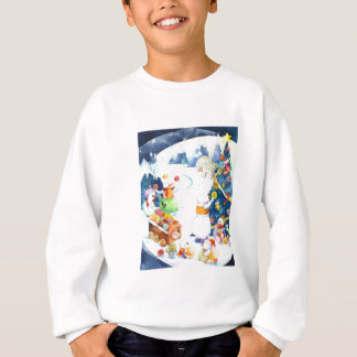 Snowmen's Yarn Ball Christmas Tree T-Shirt