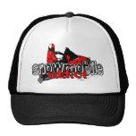Snowmobile Addict Trucker Hats