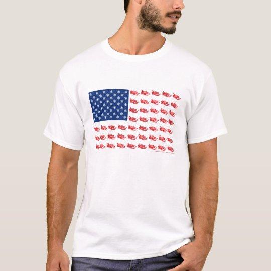 Snowmobile Flag T-Shirt