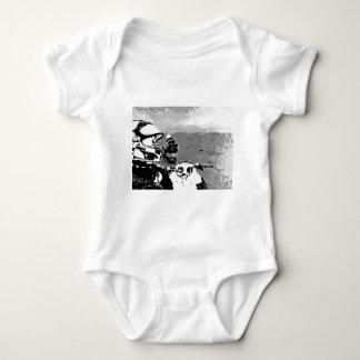 Snowmobile Freedom Baby Bodysuit