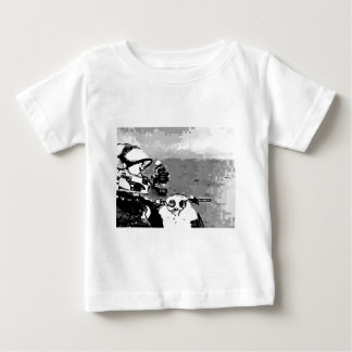Snowmobile Freedom Baby T-Shirt