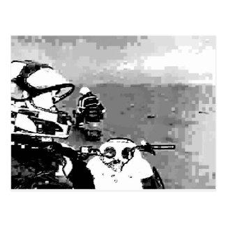 Snowmobile Freedom Postcard