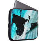 Snowmobiling on Icy Trails Rev Laptop Sleeves