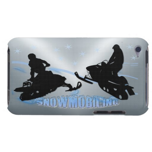 Snowmobiling - Snowmobilers Case-Mate Case Barely There iPod Cover