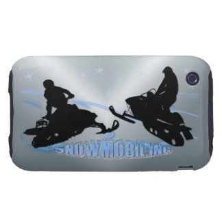 Snowmobiling - Snowmobilers Case-Mate Case Tough iPhone 3 Case