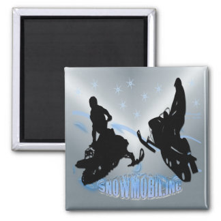 Snowmobiling - Snowmobilers Magnet