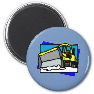 Snowplow magnet