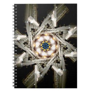 Snowplow Star Spiral Notebooks