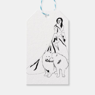 snowqueen gift tags