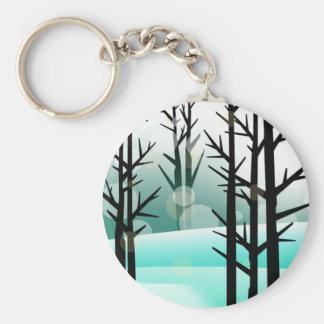 Snowscape Keychains