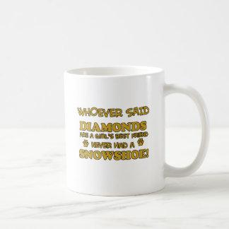 Snowshoe cat breed designs basic white mug