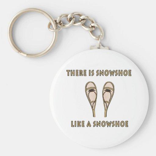 Snowshoe Keychain
