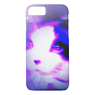 snowshoe paint by the numbers kitty iPhone 7 case