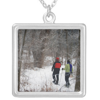 Snowshoeing In The Park Necklace