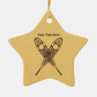 Snowshoes Christmas Ornament