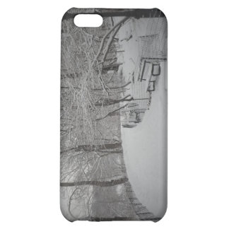 Snowstorm, Central Park, New York City iPhone 5C Cases