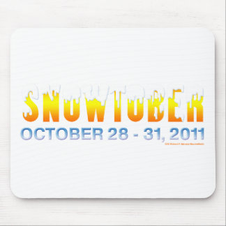 Snowtober 2011 mouse pads