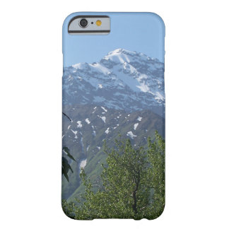 Snowy Alaskan Mountain iPhone Case Barely There iPhone 6 Case
