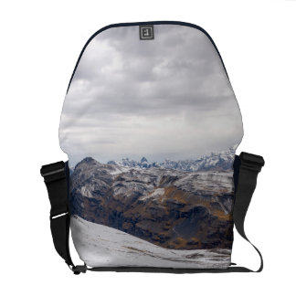 Snowy Andes Mountains Commuter Bags