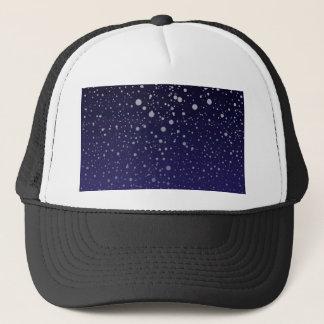 Snowy Backdrop Cap