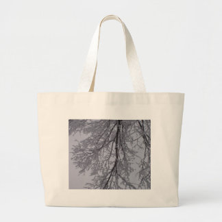 Snowy Branches And The Sky Bag