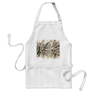 Snowy Branches Apron