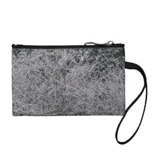 Snowy Branches Change Purses