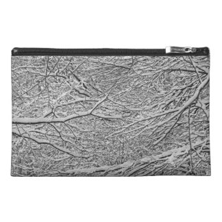 Snowy Branches Travel Accessory Bag