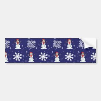 Snowy Bumper Sticker