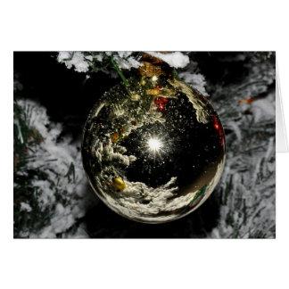 """Snowy Christmas"" Greeting Card"