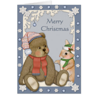 Snowy Christmas - Verse Inside Cards