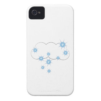 Snowy Cloud iPhone 4 Case