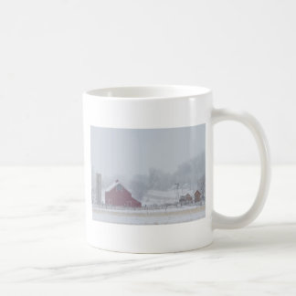 Snowy Country Winter Day Mugs