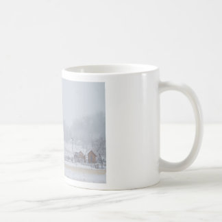 Snowy Country Winter Day Coffee Mugs