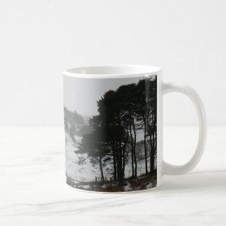 Snowy Cumbrian Winter Scene Mug