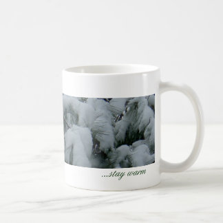 Snowy day... basic white mug