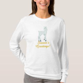 Snowy Deer T-Shirt