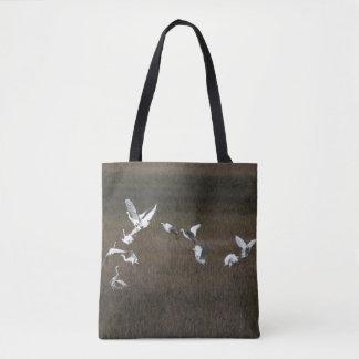 Snowy Egret Birds Wildlife Animals Tote Bag