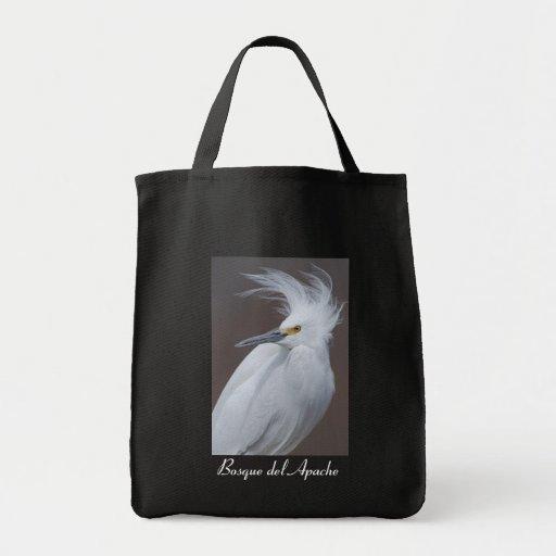 Snowy Egret (Egretta thula) Bag