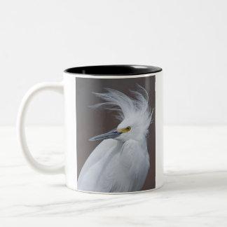 Snowy Egret (Egretta thula) Mug