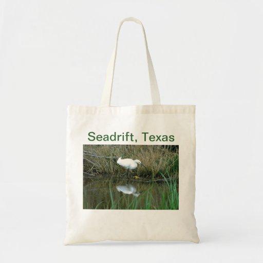 Snowy Egret Reflection Bag