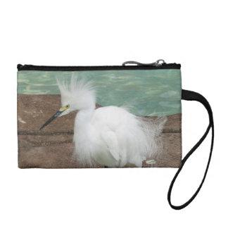 Snowy Egrets Coin Purse
