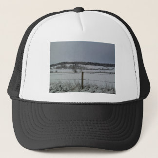 Snowy Field Trucker Hat