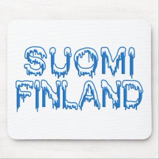 Snowy Finland custom mousepad