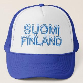 Snowy Finland hat