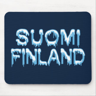 Snowy Finland mousepad